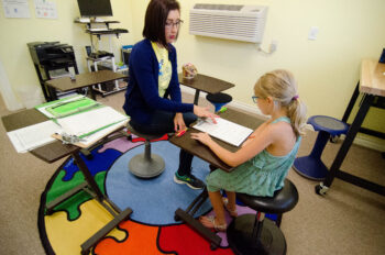 Melissa Fox of Gold Star Tutoring helps with dyslexia tutoring in Ridgefield WA